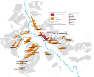 Chablis map